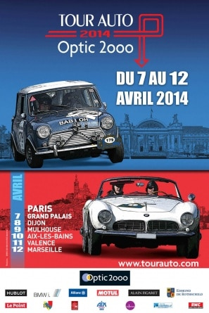 Affiche Tour Optic 2000 2014