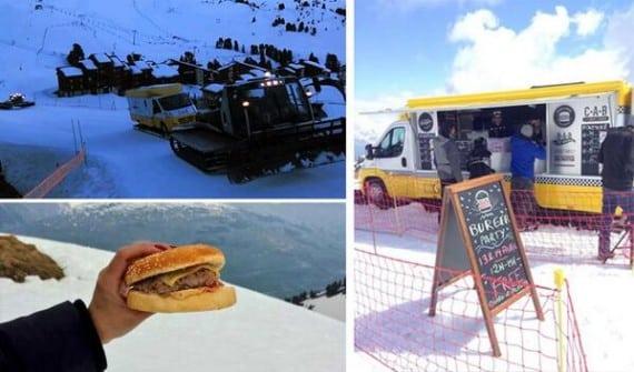 Food truck au sommet