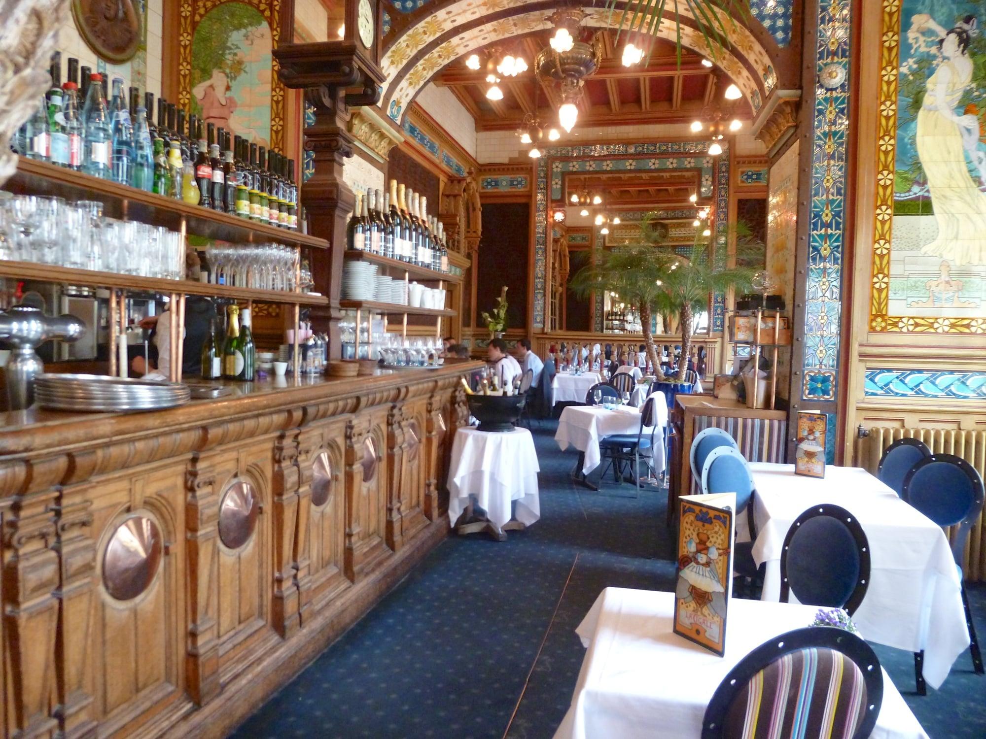La brasserie la cigale une institution nantes for Restaurant la cuisine limoges