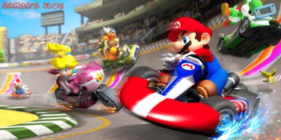 Mario kart Wii U annoncement E3