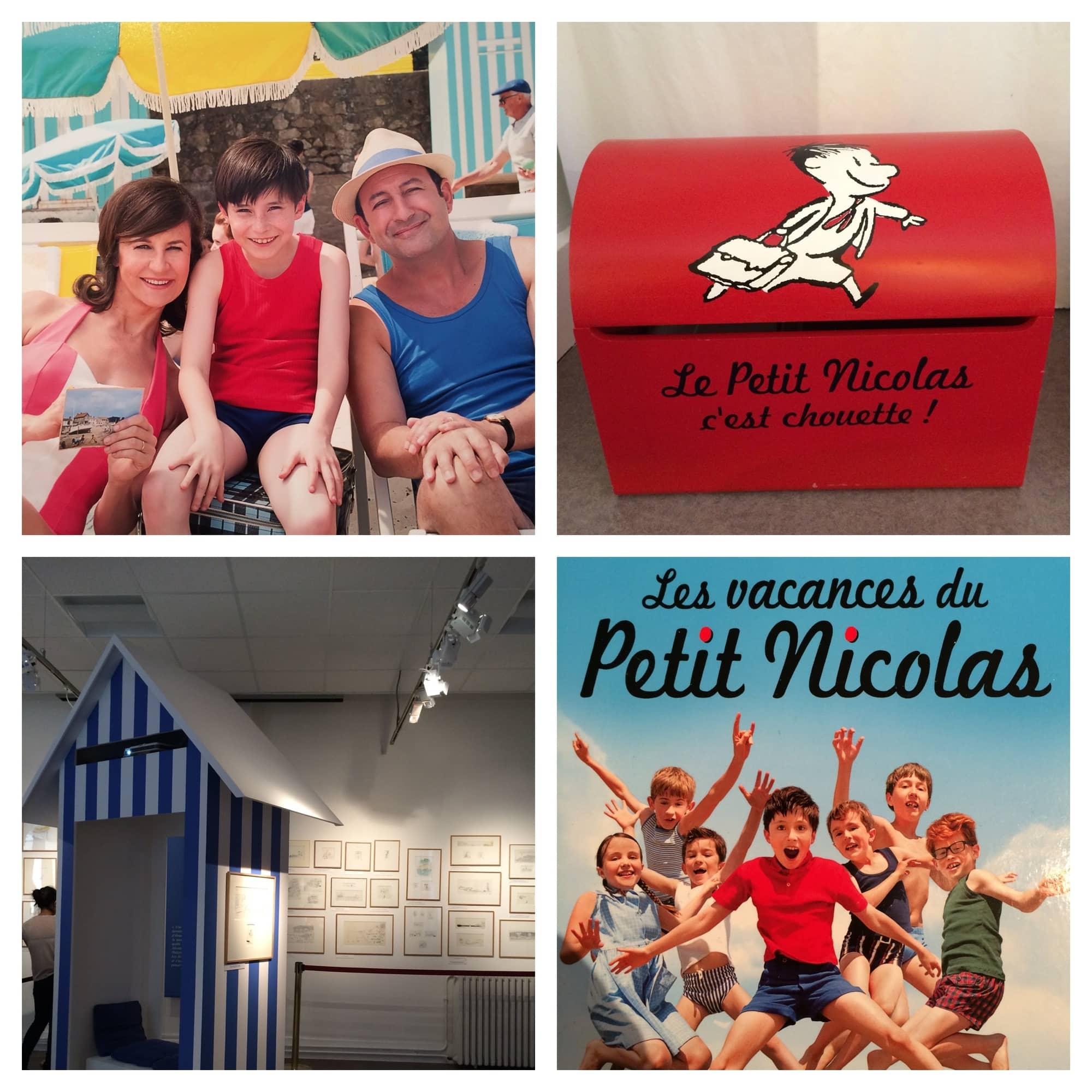 Les vacances du petit nicolas un livre un film une expo - Le petit nicolas film ...