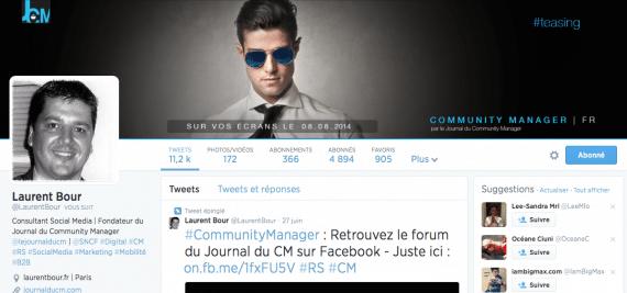 Profil twitter Laurent Bour