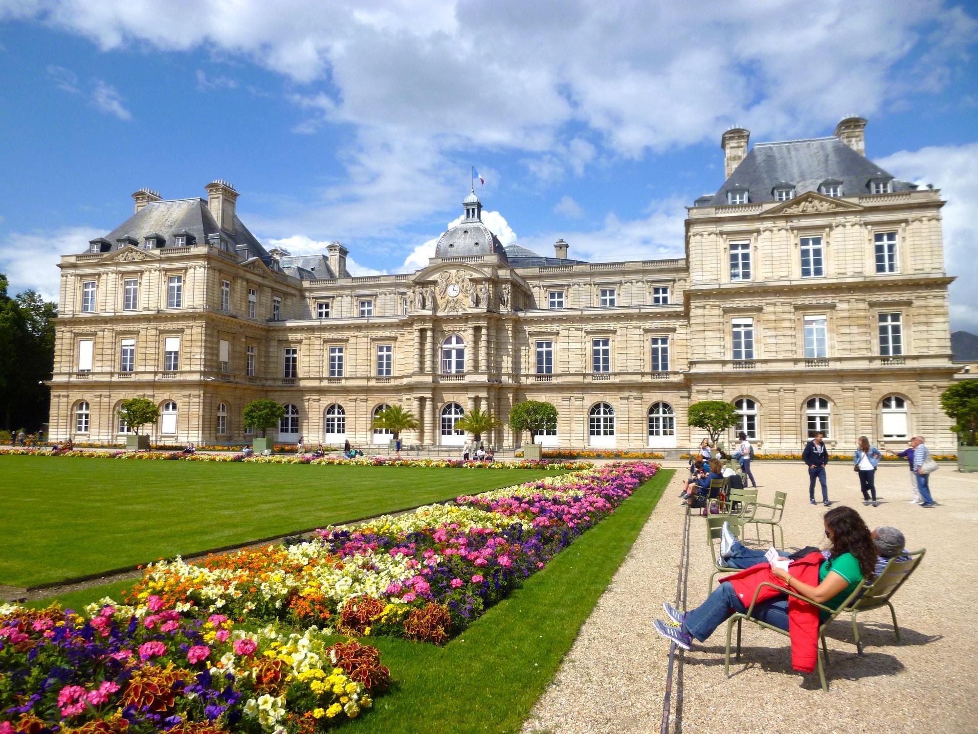 Un moment de détente et de rêverie au Jardin du Luxembourg ...