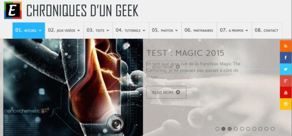 Chroniques d'un geek