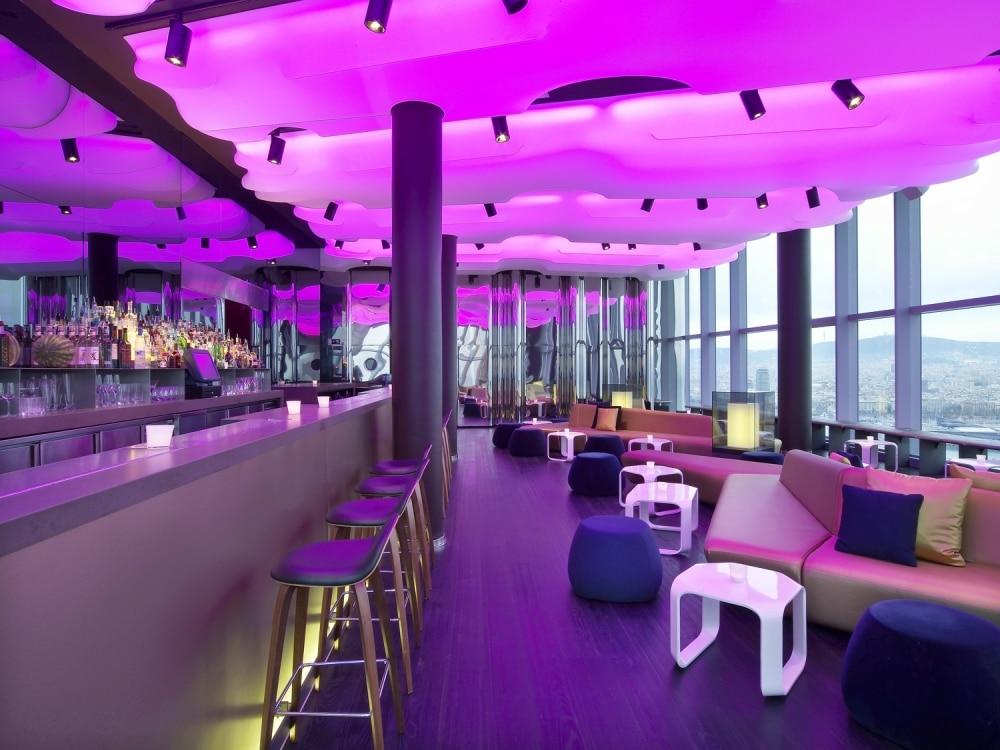 10 lieux pour un week end festif culturel et gourmand for W barcelona bar