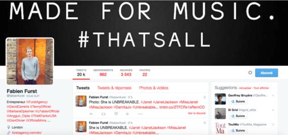 Profil Twitter Fabien Furst