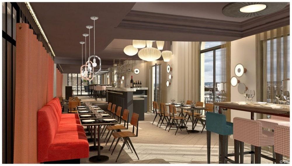 Ambiance arty et r tro au terrass h tel montmartre for Miroir restaurant montmartre