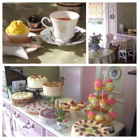 Mary Anne's tea room