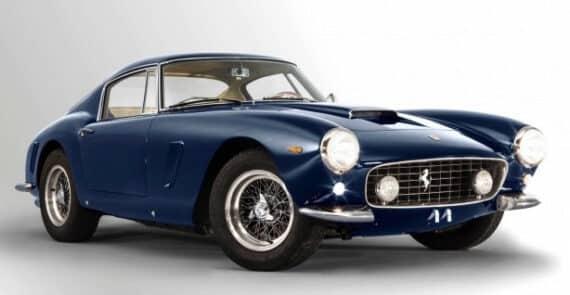 © Artcurial Motorcars pour la photo de la Ferrari 250 GT SWB? 1963 Ferrari 250 GT SWB Berlinetta, châssis 4065 – Estimation : 9 M€ - 12 M€ / 10 M$ - 13,2 M$