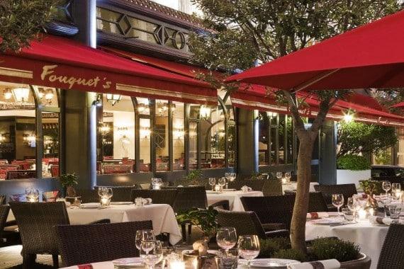 Restaurant Fouquet's - Terrasse 2