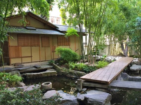 jardin japonais du panthéon bouddhique du musée Guimet 1