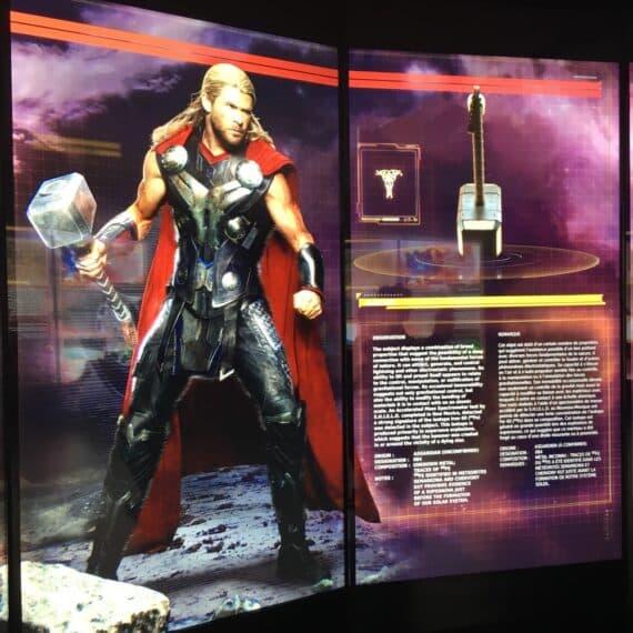 Expo Marvel Avengers Station 6