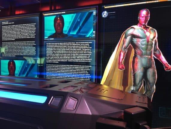 Expo Marvel Avengers Station 7