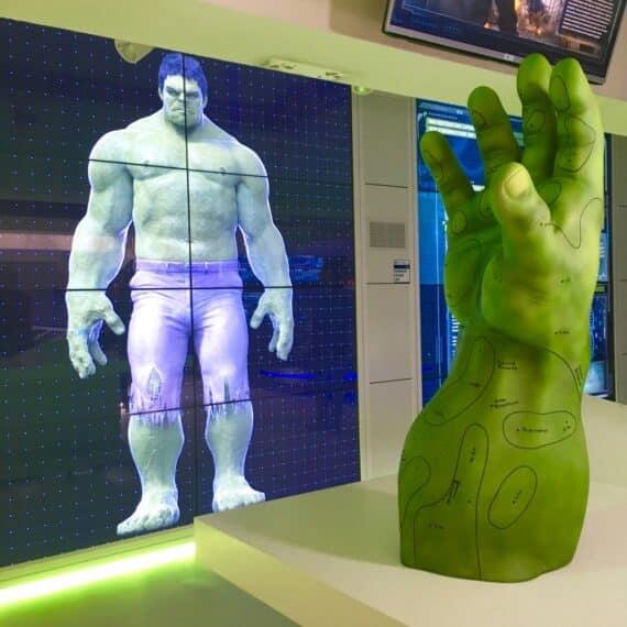 Expo Marvel Avengers Station 8