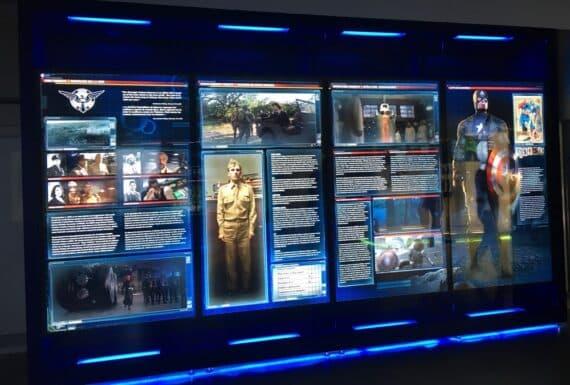 Expo Marvel Avengers Station 9
