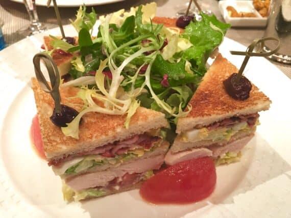 club sandwich duke's bar