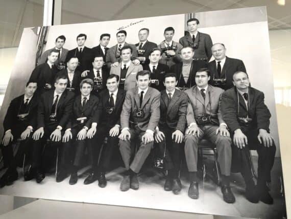 Photo de 1963 avec les photographes de Paris Match
