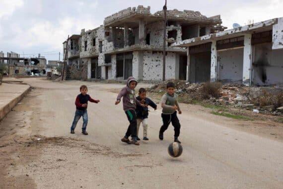 Syrie les enfants de la guerre © Paris Match