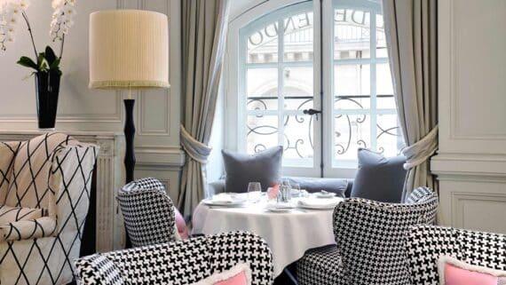 """Restaurant """"1 Place Vendome"""", Hotel de Vendome, Paris Sept 2009"""