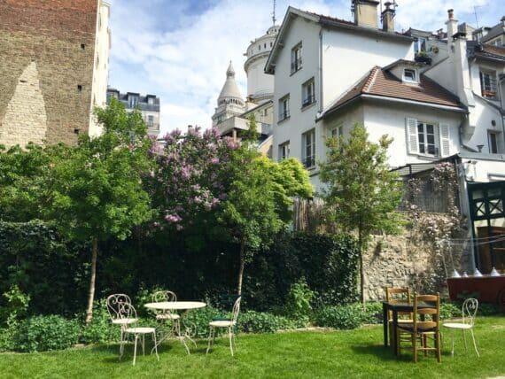 Jardins Renoir Montmartre 1