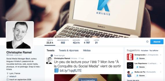 Profil Twitter Kriisiis