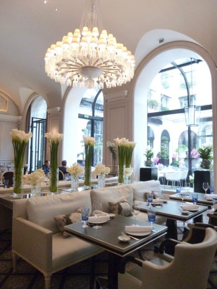 Restaurant Le george Four seasons paris 13