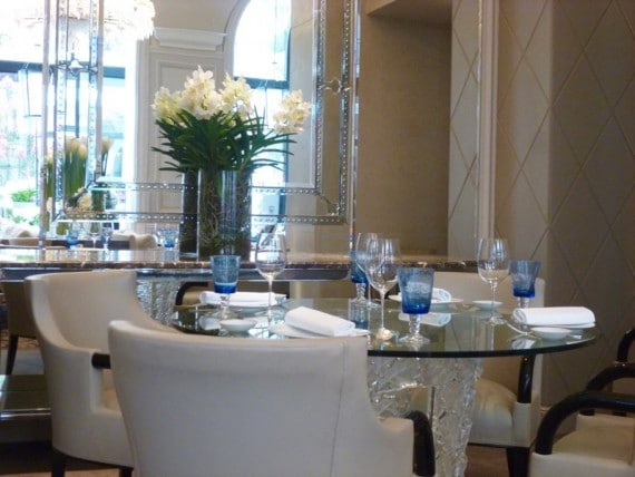 Restaurant Le george Four seasons paris 15