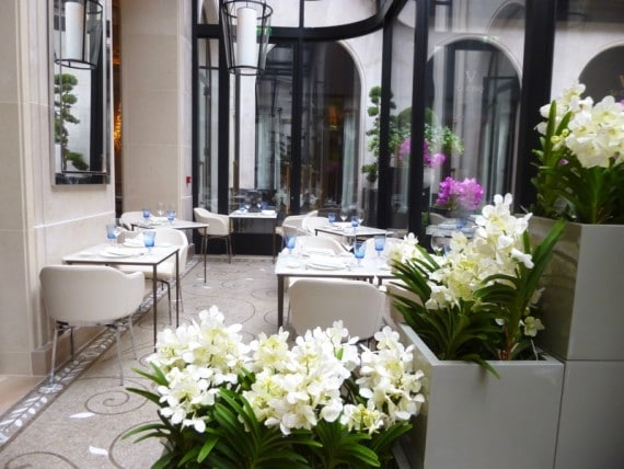 Restaurant Le george Four seasons paris 6