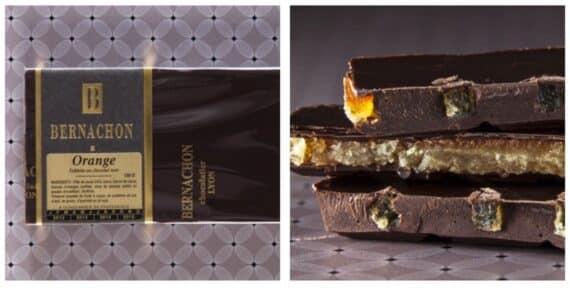 chocolat noir orange bernachon lyon
