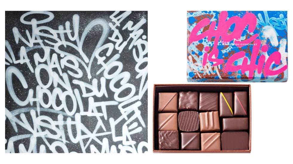 Choc is Chic, la collection street art par Nasty pour La Maison du Chocolat